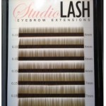 eyebrow extensions light brown sorrel